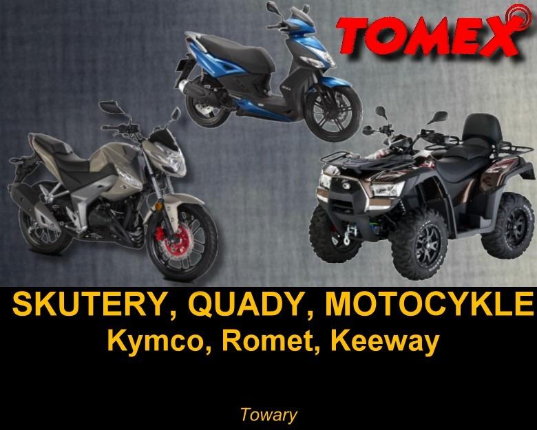 TOMEX | CB-RADIO, Motocykle, Skutery, Quady, Elektromechanika